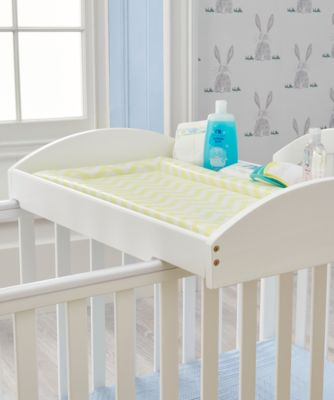 mothercare marlow cot top changer - white