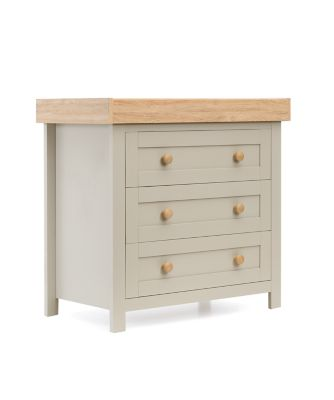 mothercare lulworth changing unit - grey