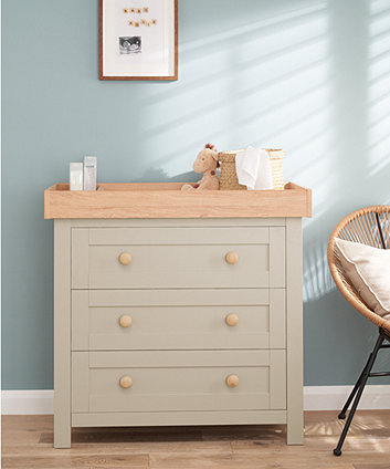 Mothercare Lulworth Changing Unit Grey
