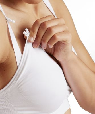 Cantaloop white nursing bra