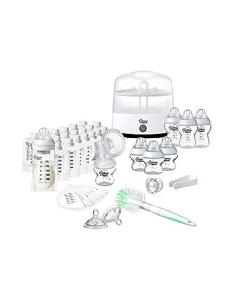Tommee Tippee closer to nature ultimate breast & bottle set