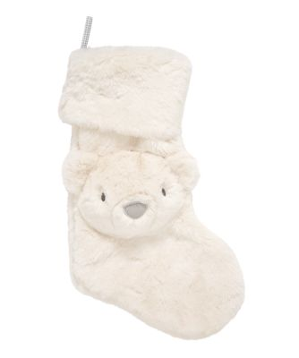 my first Christmas polar bear stocking