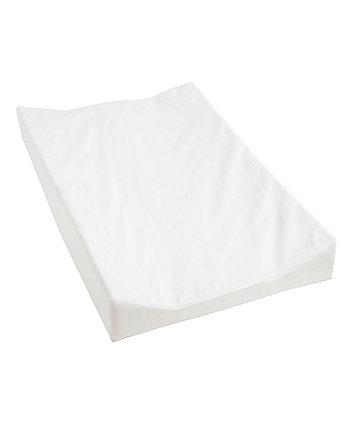 mothercare wedge shaped changing mat - white