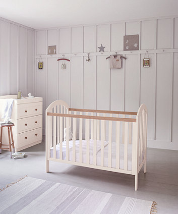 0a38ce9aa0fc mothercare marlow three drawer changing unit - cream