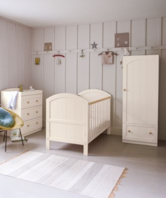 mothercare marlow single wardrobe - cream