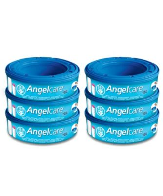 Angelcare nappy disposal system refill cassettes - 6 pack