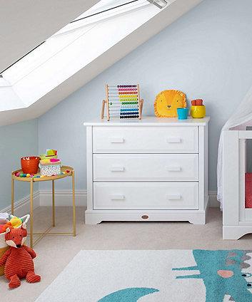 Boori 3 drawer dresser - white