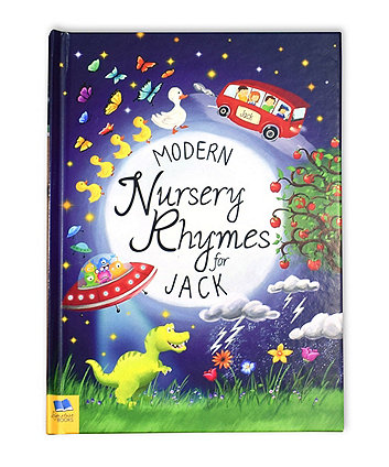personalised modern nursery rhymes softback book