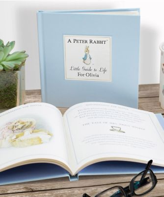 personalised peter rabbit little guide to life book
