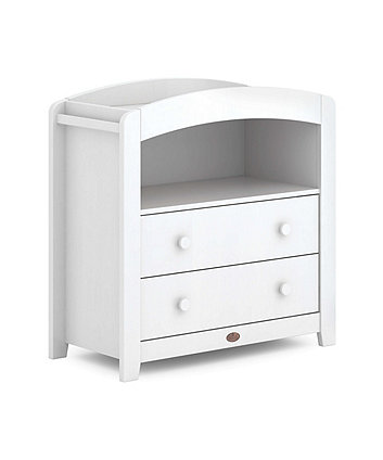 Boori universal curved 2 draw chest changer (alice) - white