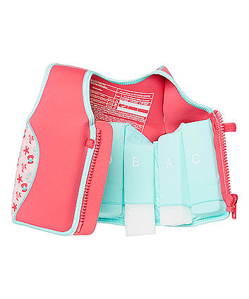 Mothercare Pink Swim Jacket 2-3 years 95d96640258b
