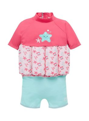 Mothercare Swimsafe Float Suits Pink 1-2