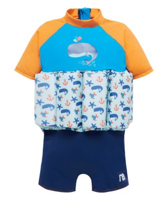 Mothercare Swimsafe Float Suits Blue 1-2