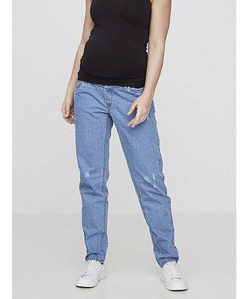 e16ea6f72653b Mamalicious Straight Cut Boyfriend Maternity Jeans   maternity jeans    Mothercare