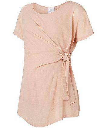 b5246a7b2d84b Mamalicious Woven Maternity Top | fashion tops | Mothercare