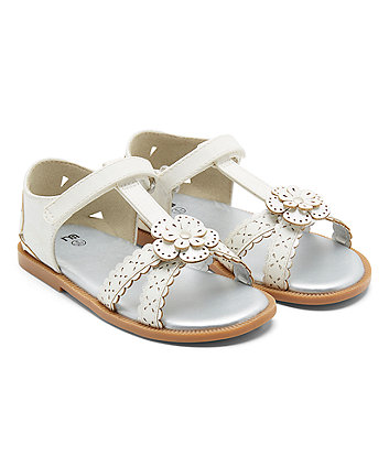 White Mothercare Flower Girls Shoes SandalsBaby nw8X0OPk