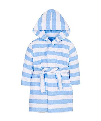 Stripe Towelling Robe
