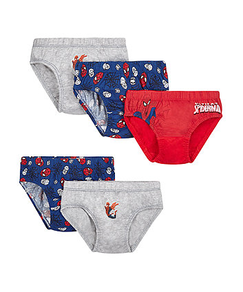 Marvel Ultimate Spiderman briefs - 5 pack