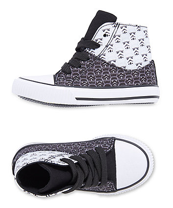 Disney Star Wars high top trainers