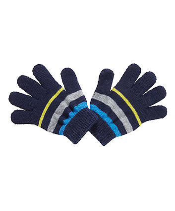 stripe magic gloves