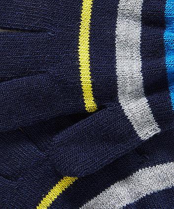 stripe magic gloves