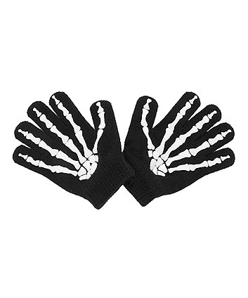 glow in the dark skeleton gloves