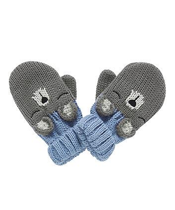 novelty bear mittens