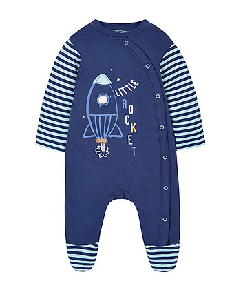 rocket wadded walk in sleeper - 2.5 tog