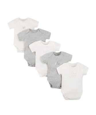 petit bébé bodysuits - 5 pack