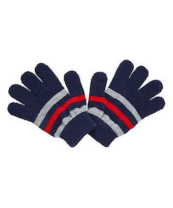 striped magic gloves