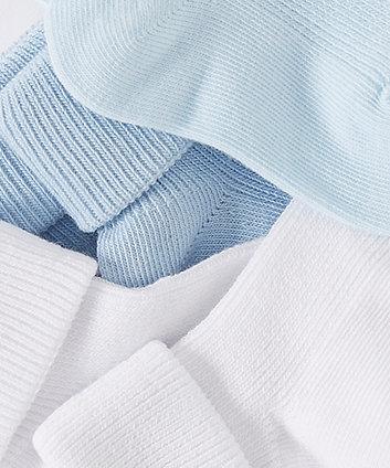 blue tot socks - 3 pack