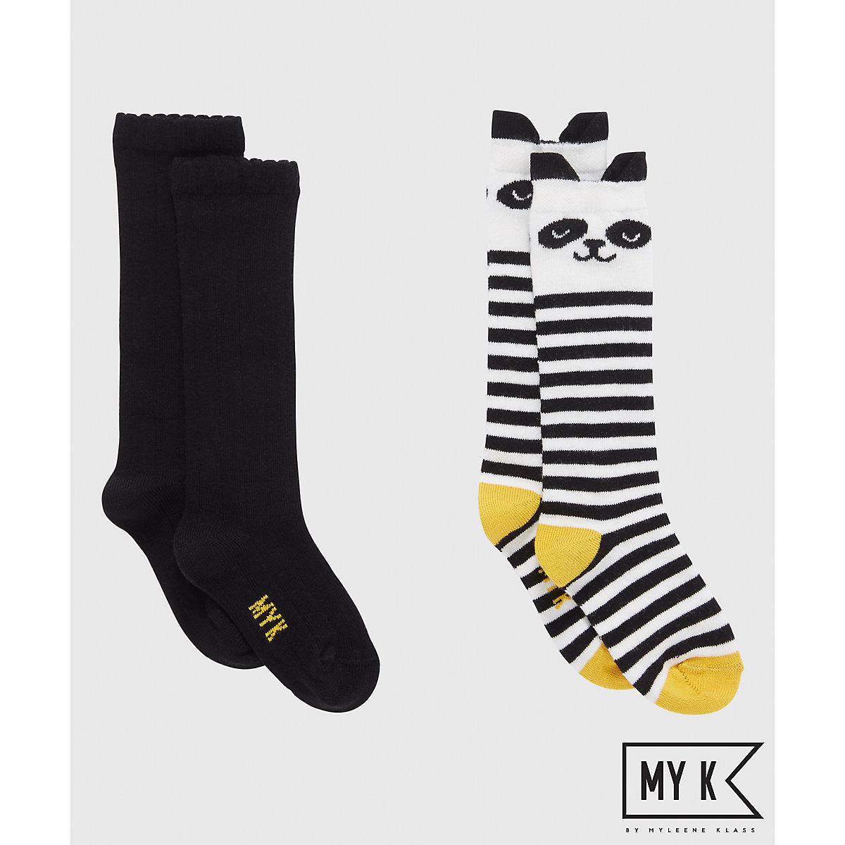 My K Knee High Socks   2 Pack