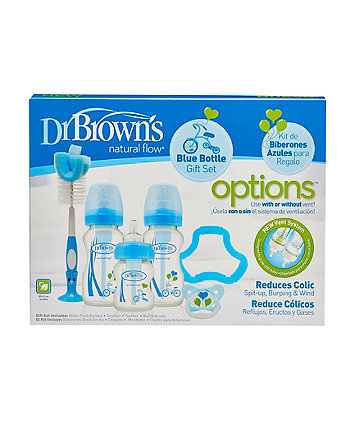 Dr Brown's options premium gift set - blue