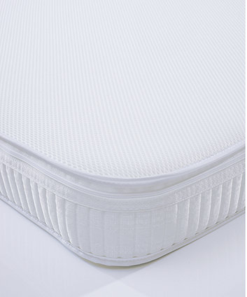 mothercare cot SAFEseal foam mattress with Spacetec and COOLMAX freshFX