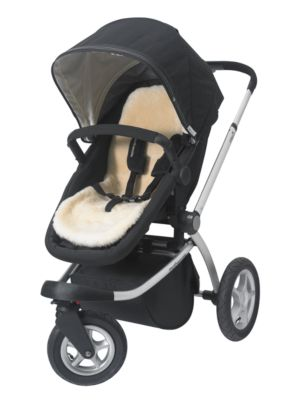 mothercare luxury natural sheepskin liner