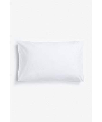 mothercare cotton cot pillowcase - white