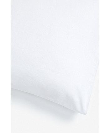 mothercare cotton cot pillowcase - white