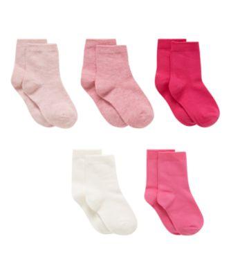 pink pelerine socks - 5 pack