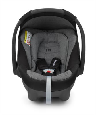 mothercare maine infant car seat - grey