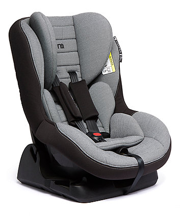 mothercare havana ISOFIX combination car seat - grey