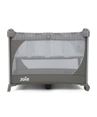 Joie commuter travel cot with customclick -  woodland mint *exclusive to mothercare*