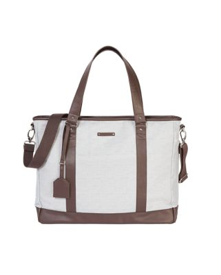 mothercare ivy weekender changing bag - alloy