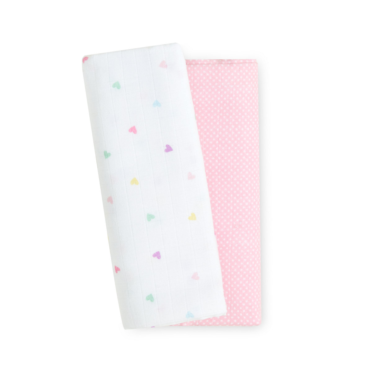 confetti party extra large muslin blankets - 2 pack
