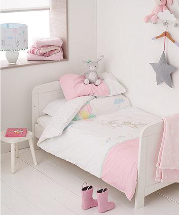 confetti party cot bed duvet set