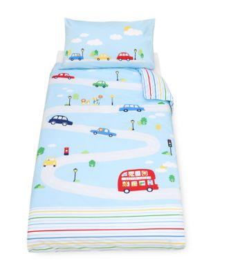 on the road cot bed duvet set