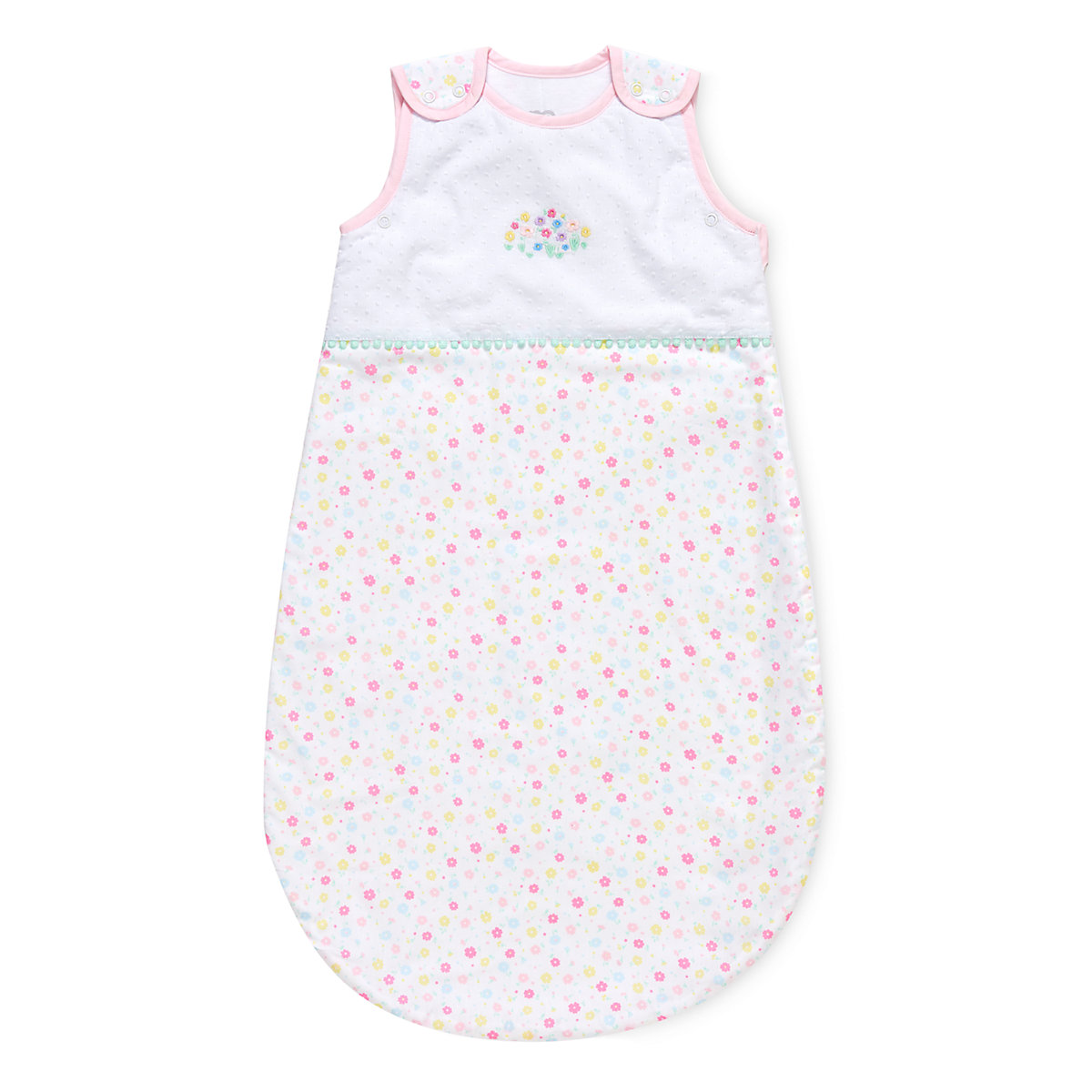 confetti party 0-6 months snoozie sleep bag - 1 tog