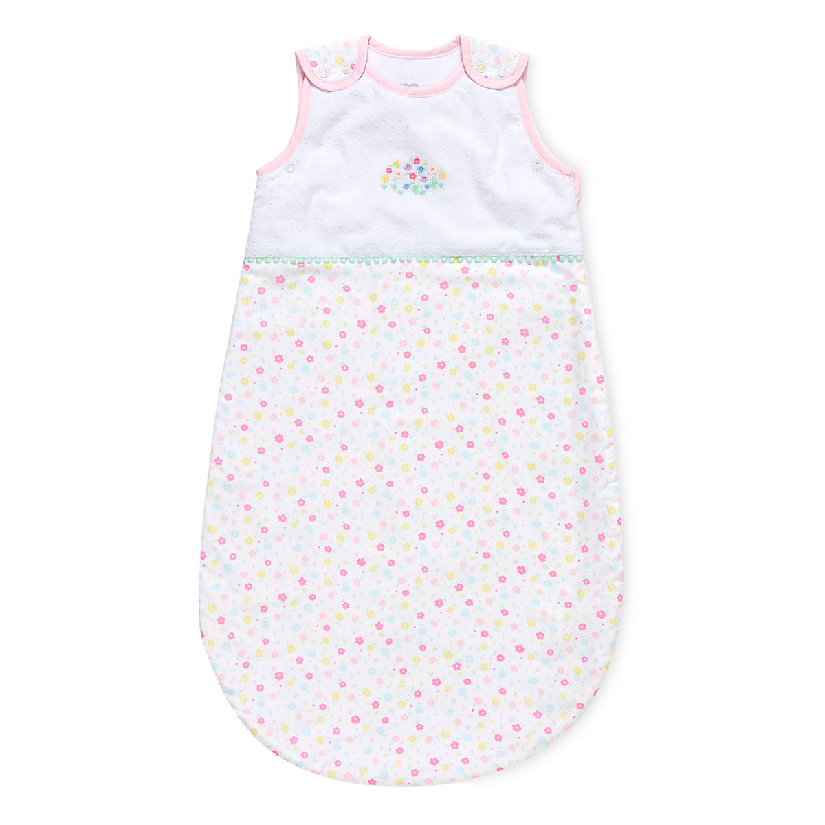 confetti party 0-6 months snoozie sleep bag - 2.5 tog