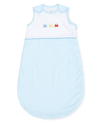on the road 0-6 months snoozie sleep bag - 2.5 tog