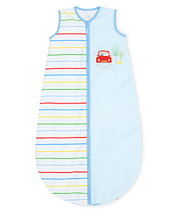 on the road snoozie 6-18 months sleep bag - 2.5 tog