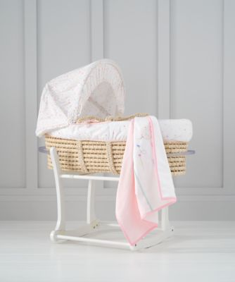 confetti party moses basket